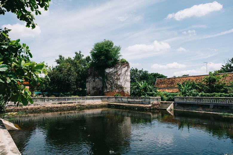 Calmness in Thailand - In een land met zoveel drukte om je heen, geniet je extra van die rustige plekjes in de natuur.