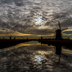 Reflection of the Clouds