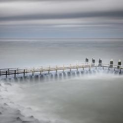 Storm Ciara op de afsluitdijk