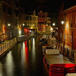 Avond in Venetië