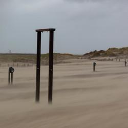 Storm Bella in IJmuiden