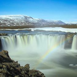 IJsland Godafoss