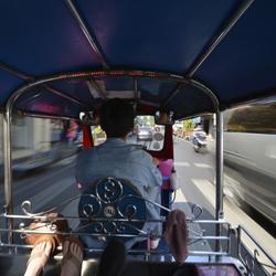 high speed tuktuk