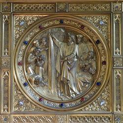 Kerkinterieur (detail)