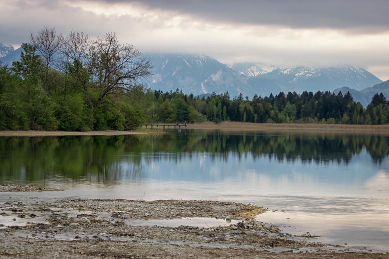 Bavarian Alps Lake