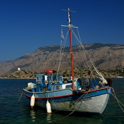 Greece Fishing Boat...