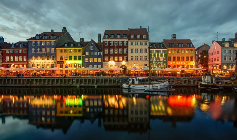 Kopenhagen - Nyhavn - Kopenhagen - Nyhavn