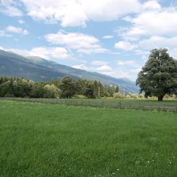 Drautal bij Dellach, Oostenrijk