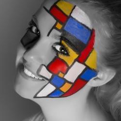 Portret a la Mondriaan