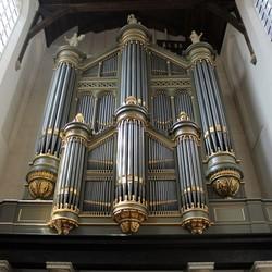 orgel oude kerk Delft