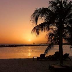Zonsondergang Curaçao