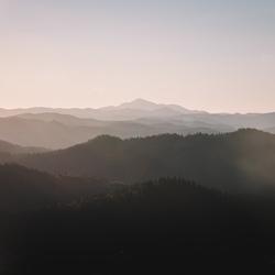 Mountain layers.