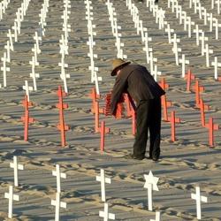 Protest tegen de oorlog in USA