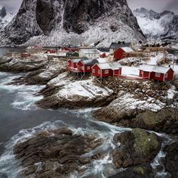 Hamnøy Lofoten Noorwegen