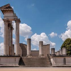 Romeinse haventempel in Xanten-2
