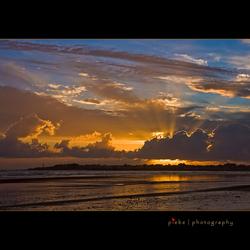 The Atlantic sunset