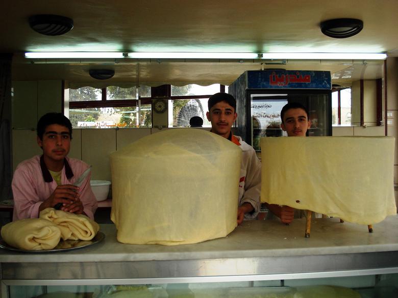 Specialiteit uit Hamah, Syrië - In Hamah wordt op een speciale manier dit deeg gemaakt voor een lekker zoet gebakje!