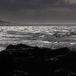 dreigende zee