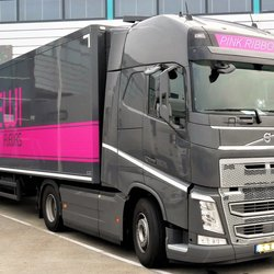 P1010289 PINK RIBBON  nr7 Trucktime  Volvo FH 25 mei 2018