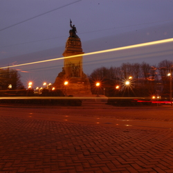 Den Haag bij nacht 1