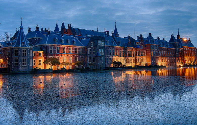 Binnenhof den Haag - Binnenhof de Haag.
