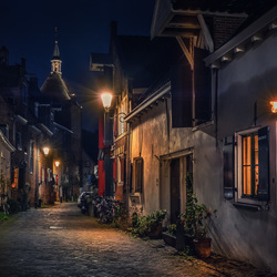 Oud straatje in Amersfoort