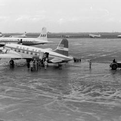 schiphol maar dan in 1956