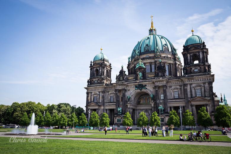 Berliner Dom - Prachtige dag in Berlijn bij de bekende kerk.