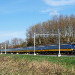 P1420764 Trein trace Delft  Schiedam  22 nov 2016