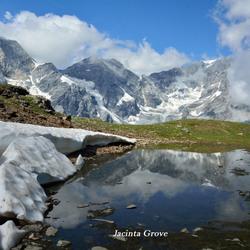 Berggezicht in de Italiaanse Alpen