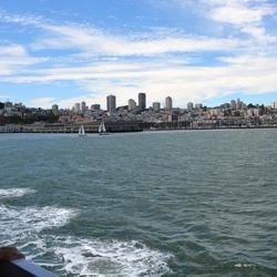 San Francisco zeezicht