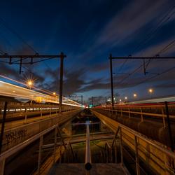 Treinen in Amsterdam