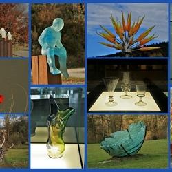 Glaswerk uit Beierse woud