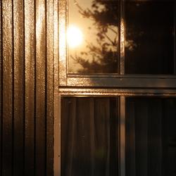 weerspiegeling raam