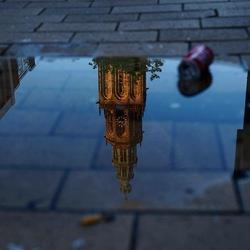 Reflectie Martinitoren