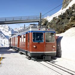 Gornergrat Bahn Zwitserland