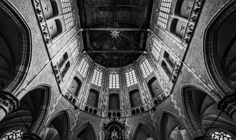 alkmaar - even een 'vluggertje' in de grote kerk van alkmaar