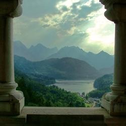 Uitzicht vanaf Neuschwanstein (2)