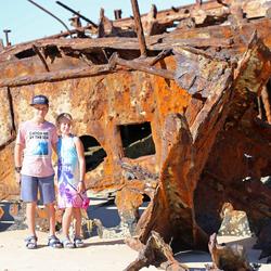 SS Maheno, Fraser Island
