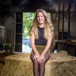 portretfotografie - het boerderijleven (2)