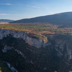 Last day view over the Gorges du Verdon