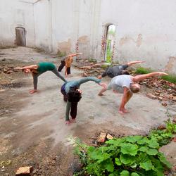 Yoga foto shoot