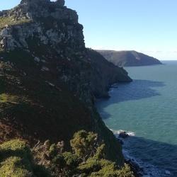 Valley of the rocks north devon