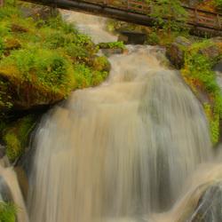 Waterval Triberg Duitsland (HDR)