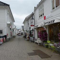 Oud-Stavanger Noorwegen.
