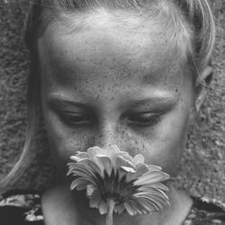 Sproeten meisje