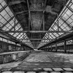 La gare a disparu