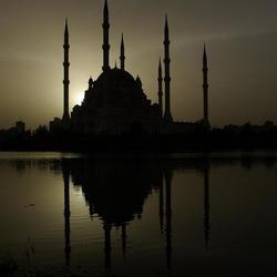 De Moskee in Adana Turkije