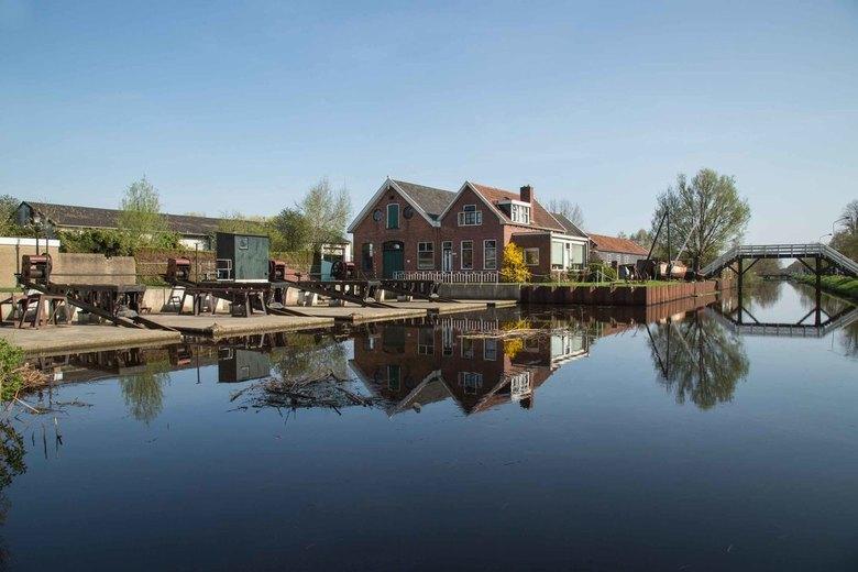 Oude scheepswerf in Sappemeer -