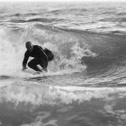 surfer b&w #2